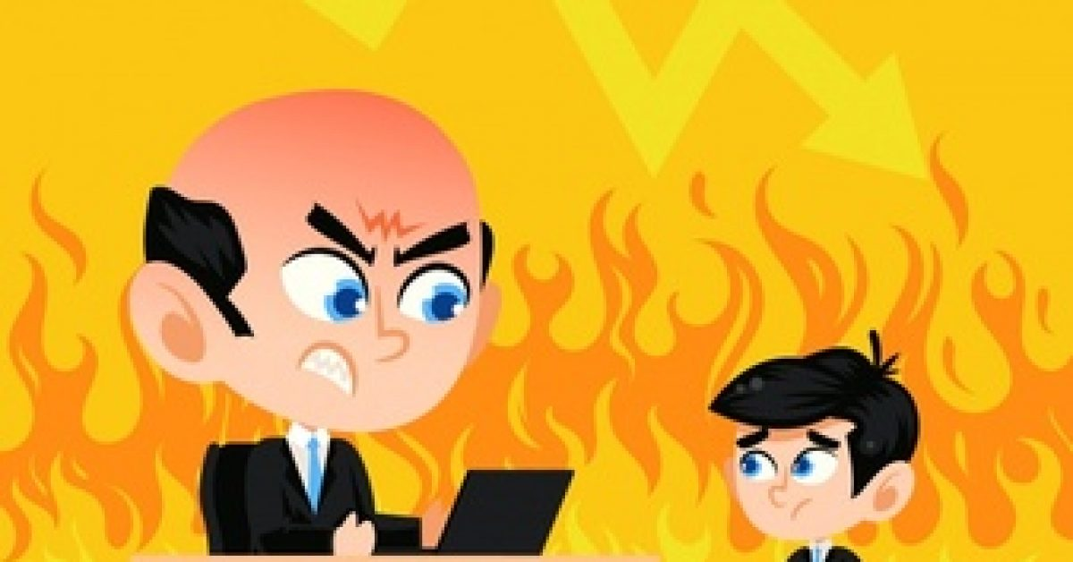 fire-background-with-boss-employee_23-2147620922