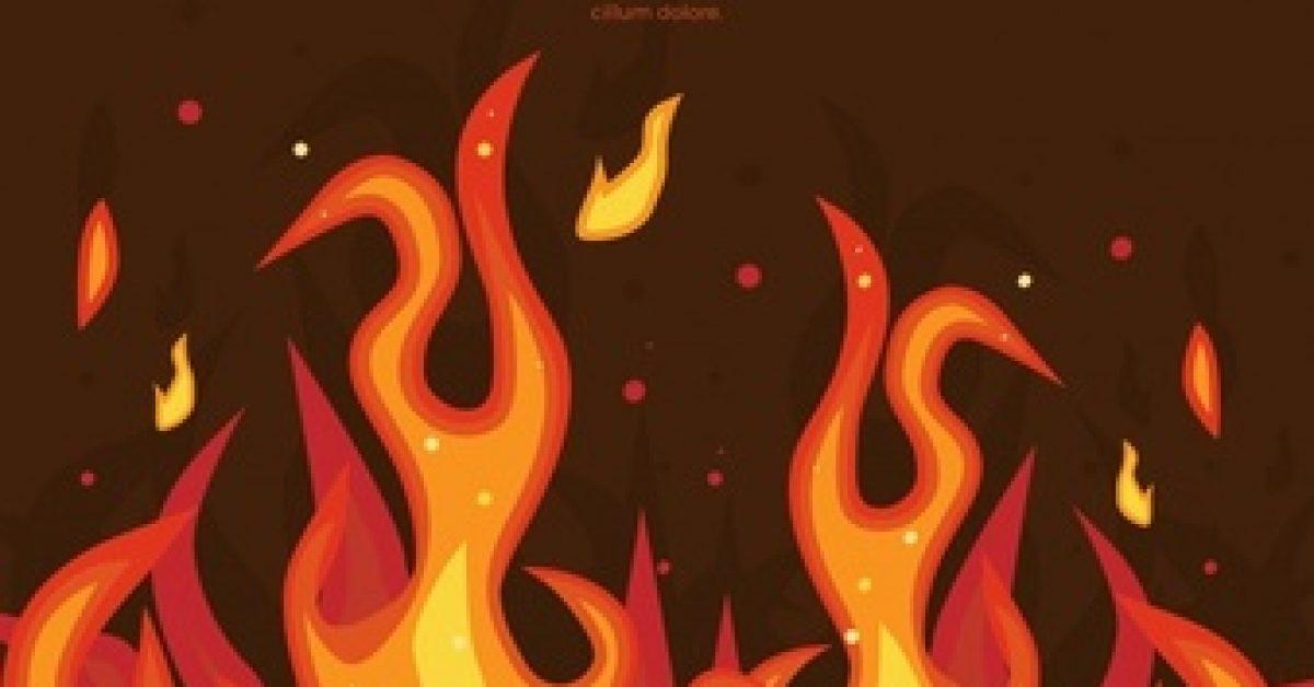 flame-background-flat-design_23-2147613313