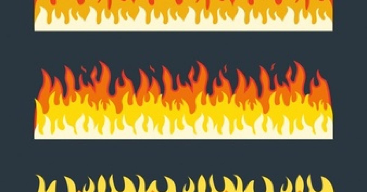 pack-three-fire-borders-with-different-colors_23-2147614502