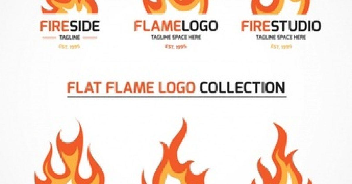 set-fire-logos_23-2147611338
