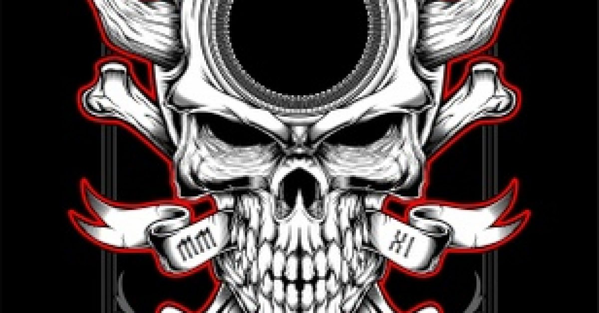 skull-head-with-horn-hand-drawing-vector_121551-121