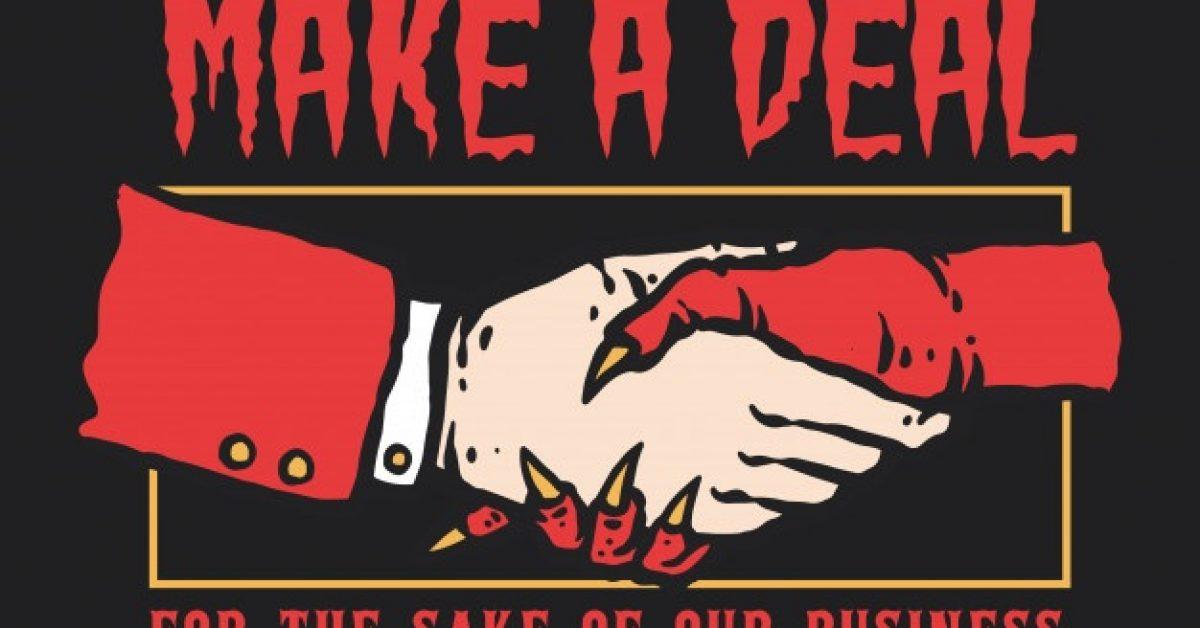 vector-illustration-hand-shaking-man-devil-make-deal-business_70499-134